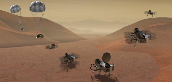 NASA wybiera misję Dragonfly