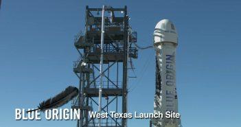 Drugi egzemplarz rakiety New Shepard przed swoim ostatnim lotem - październik 2016 / Credits - Blue Origin