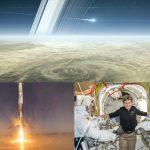 Przegląd 2017 roku: koniec misji Cassini, lądujący pierwszy stopień rakiety Falcon 9 i Peggy Whitson na ISS / Credits - NASA, SpaceX