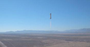 Pierwszy lot nowego egzemplarza rakiety New Shepard