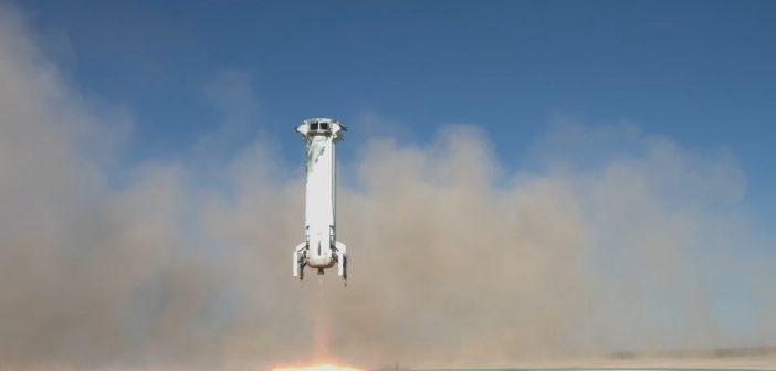 Blue Origin wkrótce rozpocznie sprzedaż biletów na loty suborbitalne