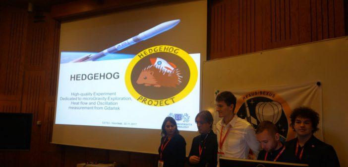 Polski zespół podczas prezentacji pomysłu / credits: REXUS/BEXUS