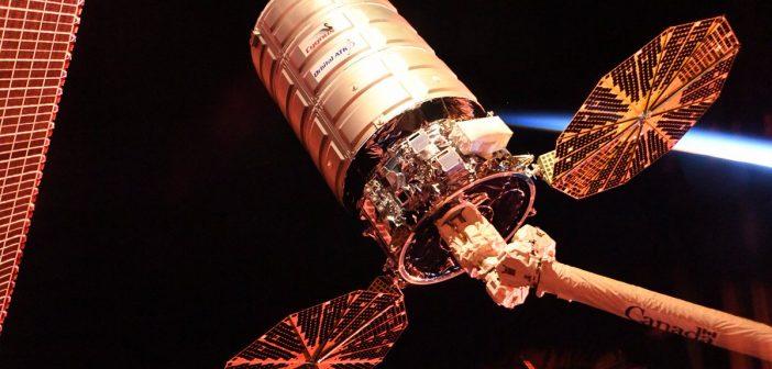 Cygnus OA-8 odłączony od ISS