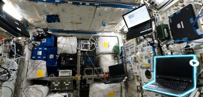 International Space Station Tour VR na Windows Mixed Reality