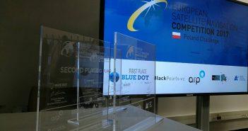 Statuetki ESNC / Credits: Blue Dot Solutions