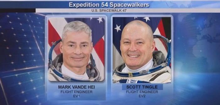 Spacer kosmiczny EVA-47 (23.01.2018)
