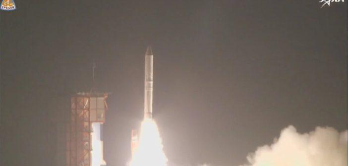 Start rakiety Epsilon z 17.01.2018 / JAXA