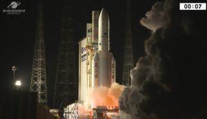 qStart Ariane 5 - 28.01.2018 / Credits - Arianespace