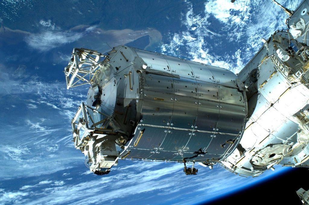 Zdjęcie europejskiego modułu Columbus wykonane przez astronautę Luca Parmitano / Credits - ESA/NASA