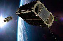 Wizualizacja nanosatelitów GomSpace / Źródło: GomSpace