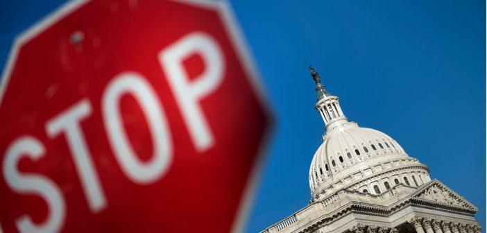 Government shutdown w USA