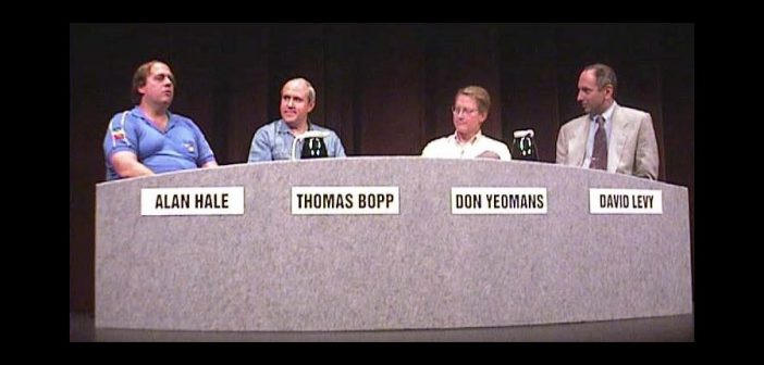 Jeden z wywiadów na temat komety C/1995 O1 Hale-Bopp, w której uczestniczył Thomas Bopp / Credits - Caltech