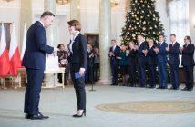 Jadwiga Emilewicz and President Andrzej Duda / Credits - KPRM