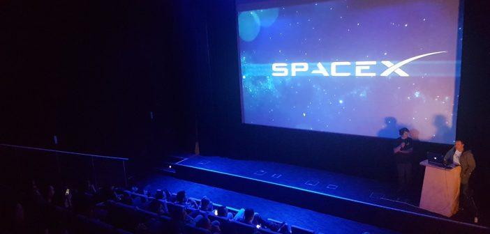 Falcon Heavy – widownia w Gdyni