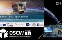 HyperSat - Open Source Cubesat Workshop 2017 / Credits - ESA, OSCW