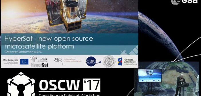 HyperSat - Open Source Cubesat Workshop 2017 / Credits - ESA, OSCW