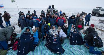 Lądownik Sojuza MS-06 wrócił na Ziemię