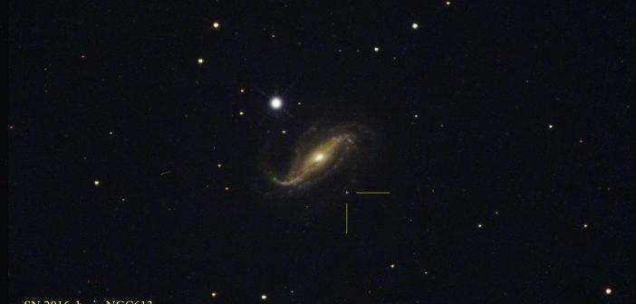 Narodziny supernowej SN 2016gkg
