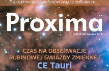 Proxima 1-2018 / Credits - Biuletyn Obserwatorów Gwiazd Zmiennych PROXIMA