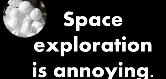 Niewątpliwie dane z kosmosu mogą być bardzo denerwujące! / Credits - TEDx