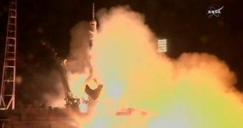 Udany początek misji Sojuz MS-08
