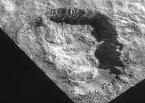 Krater Juling / Credits - NASA/JPL-Caltech/UCLA/MPS/DLR/IDA/ASI/INAF