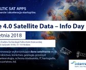 Space 4.0 Satellite Data Info Day w Krakowie (10.04.2018)