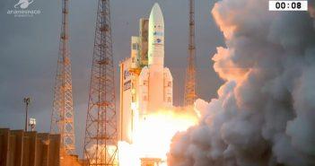 Start Ariane 5 z 5 kwietnia 2018 / Credits - Arianespace