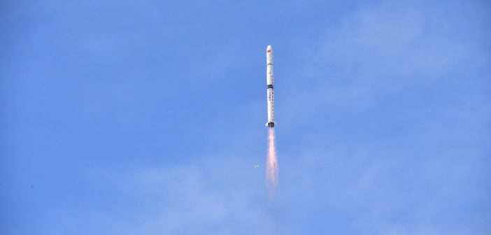 Start CZ-4C z satelitami Yaogan-31 / Credits - Xinhua