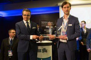 Nagroda dla najlepszego startupu / Credits - PSSE