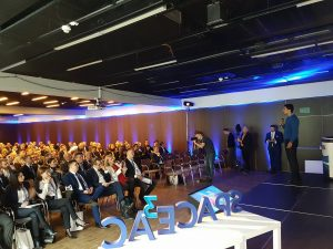 Audience of the Space3ac Intermodal Transportation Demo Day / Credits - PSSE