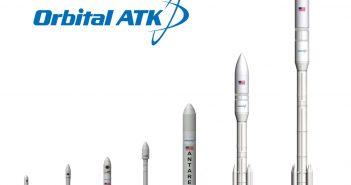 Rodzina rakiet firmy Orbital ATK / Credits - Orbital ATK