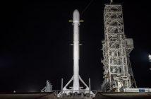 Rakieta Falcon 9R z satelitą Zuma przed startem / Credits - SpaceX