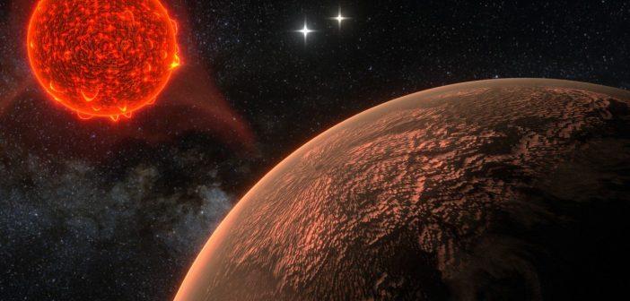 Detekcja silnych rozbłysków Proximy Centauri