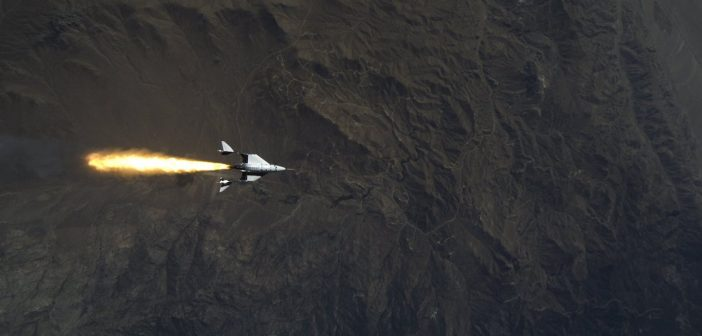 Drugi lot rakietowy VSS Unity