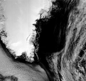 Wiry koło Grenlandii / credits: EUMETSAT