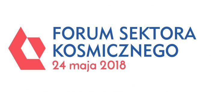 Zapraszamy na Forum Sektora Kosmicznego 2018