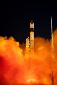 Start Sentinela-3B / credits: ESA - S. Corvaja