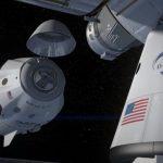 Kapsuła Dragon 2 zbliża się do ISS / Credits - SpaceX