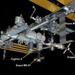 Aktualna konfiguracja ISS po dotarciu Cygnusa OA-9 (24.05.2018) / Credits - NASA