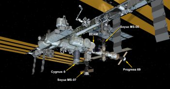 Cygnus OA-9 dotarł do ISS