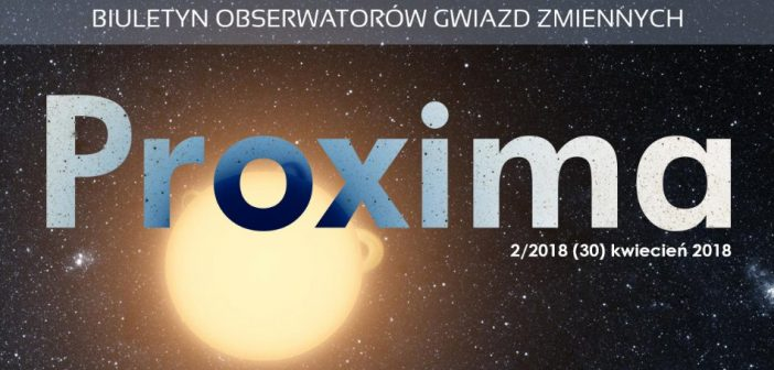 Proxima 2/2018 / Credits - Proxima
