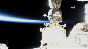 Cumowanie Sojuza MS-09 do ISS / NASA