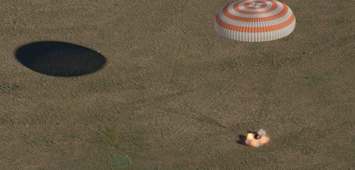 Udane lądowanie Sojuza MS-07