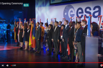 Kadr z Ceremonii Otwarcia ISU SSP18 / International Space University