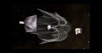 Grafika misji RemoveDEBRIS / Credits - SSC