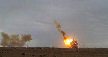 Wybuch po nieudanym starcie rakiety Proton M z 2 lipca 2013 / Credits - TheMrSuslov