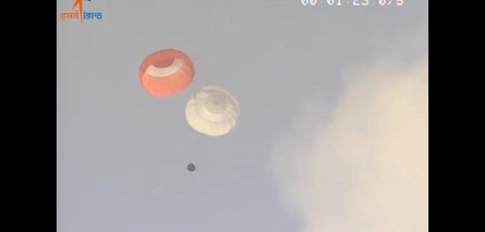 Test systemu ratowniczego – problem spadochronów?