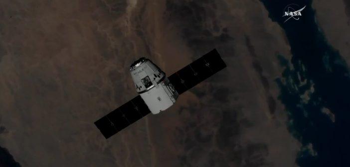 Dragon (CRS 15) przycumowany do ISS