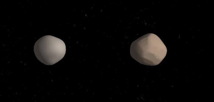 Wizja artysytczna 2017 YE5 / Credits - NASA/JPL-Caltech